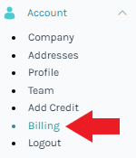 Billing Feature in the Easyship Dashboard